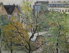 Blick aus dem Künstler-Atelier in Berlin. Kurfürstenstraße, 1927 / Ernst Oppler