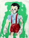 Jim  Dine  - Pinocchio Coming from the Green