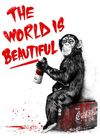 The World Is  Beautiful - Red