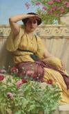 John William Godward, A Tryst, 1912
