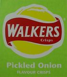 Holland David  - Walker Crisps - Pickled Onion
