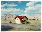 Shore Stephen - Badlands national monument, South Dakota, 7-14-1973