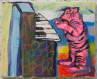 Hahn, Nata Lee ◊ Tiger playing the Piano
