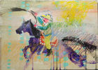 Hahn, Nata Lee ◊ Cowboy on purple horse