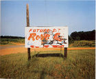Christenberry, William ◊ Sign, near Greensboro, Alabama, 1978