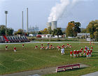 Epstein, Mitch &#9674; Mitch Epstein, <i>Poca High School and Amos Coal Power Plant, Poca, West Virginia, 2004</i>