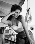 Worth, Frank ◊ Elizabeth Taylor with bustier No.3