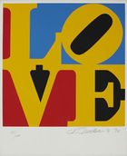 von Zezschwitz - Robert Indiana, The book of love, 1996