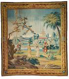 Jean Barraband I, Jean Barraband, Tapisserie mit Chinoiserie, um 1710