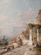 Unterberger, Franz Richard ◊ Sorrento.�Golf�von�Neapel