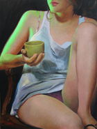 Efe, Alpay ◊ girl with green lit cup