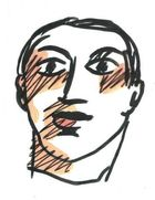 Wesselmann, Tom ◊ Male Head (1990)