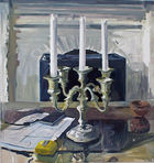 Harris, Jim ◊ Candelabra on Table