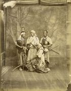 Galerie Bassenge Berlin - Baron Raimund von Stillfried-Ratenicz, Studio portraits of fencers