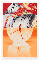 Galerie Fl�gel-Roncak - James Rosenquist - Hole in the Center of the Clock.
