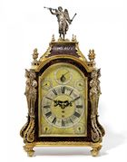 Van Ham Kunstauktionen - Queen Anne Bracket Clock, London. 1690-1720. Claudius Du Chesne.