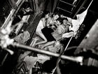 Galerie Bassenge Berlin - Weegee, Children on the Fire-Escape, 1938/printed circa 1980 by Sid Kaplan