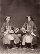 Galerie Bassenge Berlin - Pun Lun Studio, Selected portraits of Chinese, 1870s