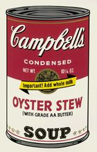 WARHOL, ANDY ◊ Campbell´s Soup Can II Oyster Stew, FS II.60
