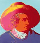 Koller Auktionen AG - Andy Warhol (Pittsburgh 1928 - 1987 New York), Goethe, 1982
