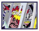 Koller Auktionen AG - Roy Lichtenstein, Reflections on crash, 1990