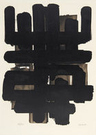 Winterberg|Kunst - PIERRE SOULAGES, Lithographie No. 3