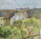 Galerie Auktionshaus Hassfurther - Marie Egner, Blick aus dem Atelier