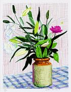 Galerie Flügel-Roncak - Hockney - iPad drawing Lilies