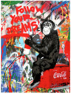 BRAINWASH auch Thierry Guetta (MBW), Mr. ◊ Everyday Life - Follow Your Dreams (Mona Lisa)
