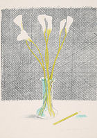 Hockney, David ◊ Lillies