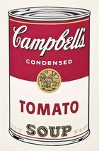 WARHOL, ANDY ◊ Tomato Soup, from: Campbell\'s Soup (FS II.46)