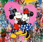 BRAINWASH auch Thierry Guetta (MBW), Mr. ◊ Mickey & Minnie (pink)