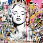 BRAINWASH auch Thierry Guetta (MBW), Mr. ◊ Marilyn Monroe