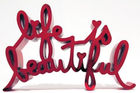 BRAINWASH auch Thierry Guetta (MBW), Mr. ◊ Life Is Beautiful - Hard Candy (Red)