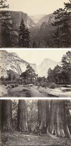Carleton E. und Taber Watkins und Isaiah West, Views of San Francisco, Yosemite and other California sites, 1864/66