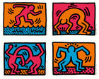Koller Auktionen AG - Keith Haring, Pop Shop I-IV, 1988