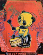Andy Warhol, Clockwork Panda Drummer (aus Toy Series), 1983