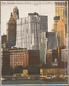 Christo, ◊ Lower Manhattan Wrapped Building