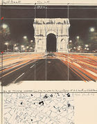 Arc de Triomphe, Wrapped