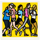 Julian Opie - Running Woman