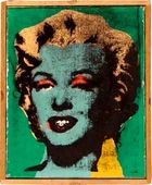 Sturies Kunst und Auktionen - Richard Pettibone, Blue Marilyn, 1973