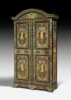 Nicolas Sageot, Prunk-Schrank mit Boulle-Marketerie, Paris um 1715/25