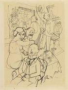 Kunsthaus Lempertz - George Grosz, Berliner Salon, 1920