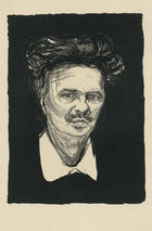Galerie Bassenge Berlin - Edvard Munch, August Strindberg, 1896
