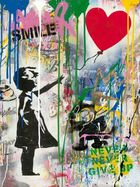 Galerie Frank Fluegel - Mr.Brainwash | Balloon Girl