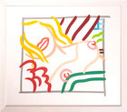 WESSELMANN, TOM ◊ New bedroom blonde doodle