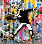 Galerie Frank Fluegel - Mr. Brainwash - Banksy Thrower