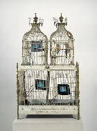 Nam June Paik, Cage in Cage, 1993