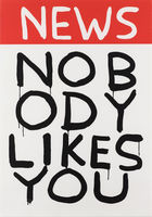 SHRIGLEY, DAVID ◊ Untitled (News: Nobody Likes You)
