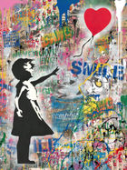 BRAINWASH auch Thierry Guetta (MBW), MR. ◊ Balloon Girl Large
